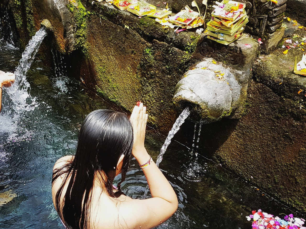 Bali Water Clearing Soul ceremony